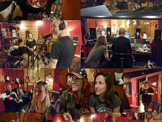 Weekend lang studio-opnames!