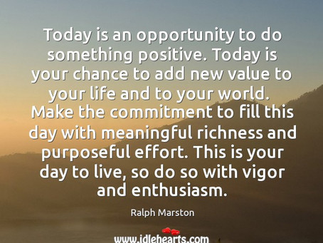 Make Today Meaningful