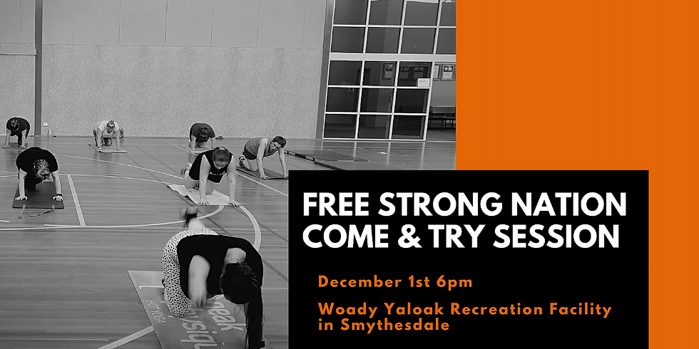 FREE STRONG30 Come & Try Session
