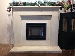 contura i6 and stone surround