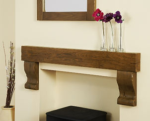 Wooden Beams, Focus Fireplaces, Shelf, Surround, Mantle