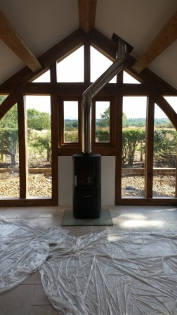 Contura Stove with Twinwall