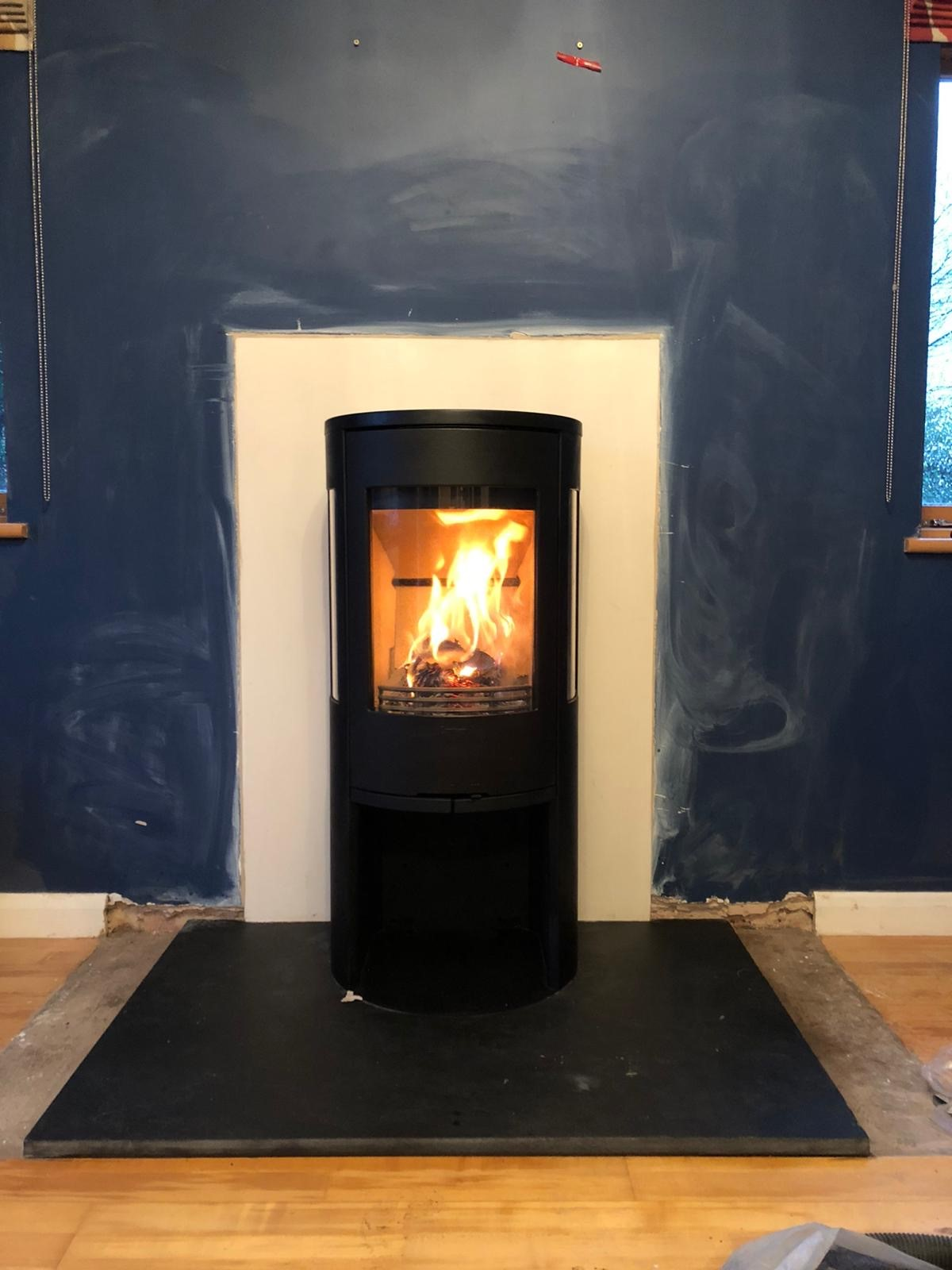 contura wood stove