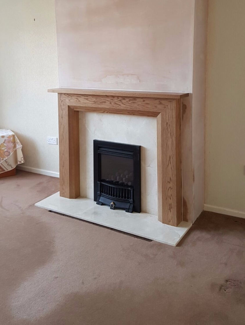 new closed gas fire