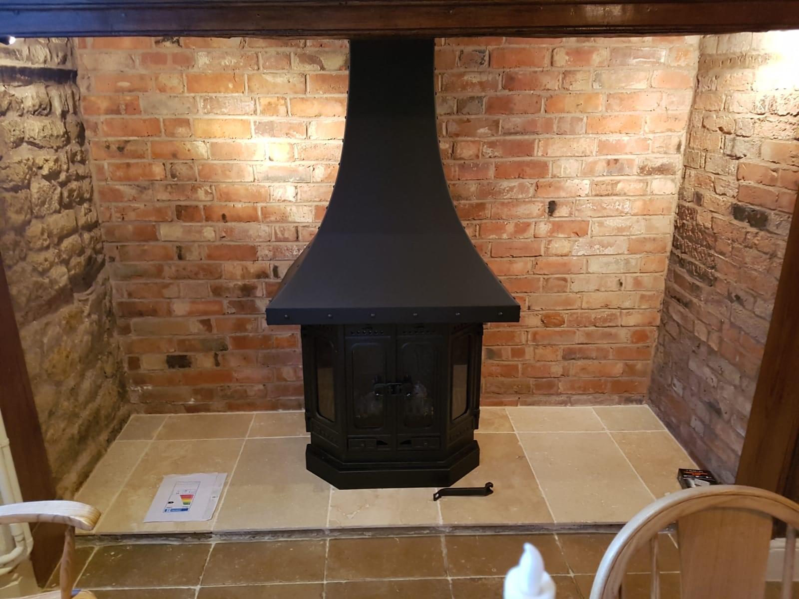 dovre fireplace