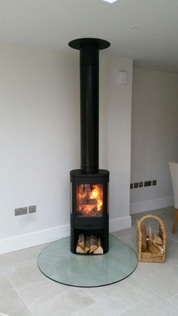 STOVE AND TWINWALL FLUE