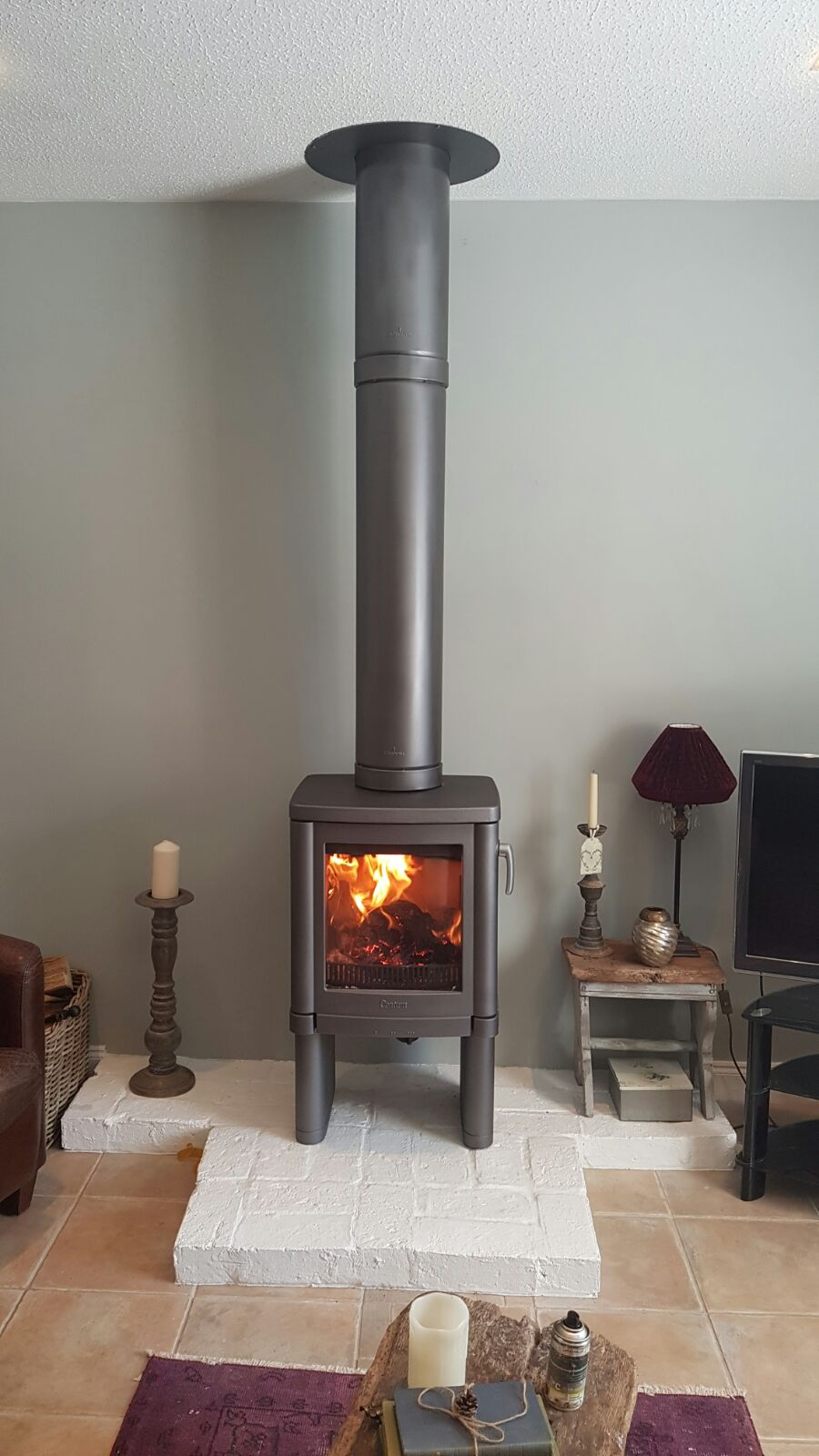 Contura Stove and Twinwall