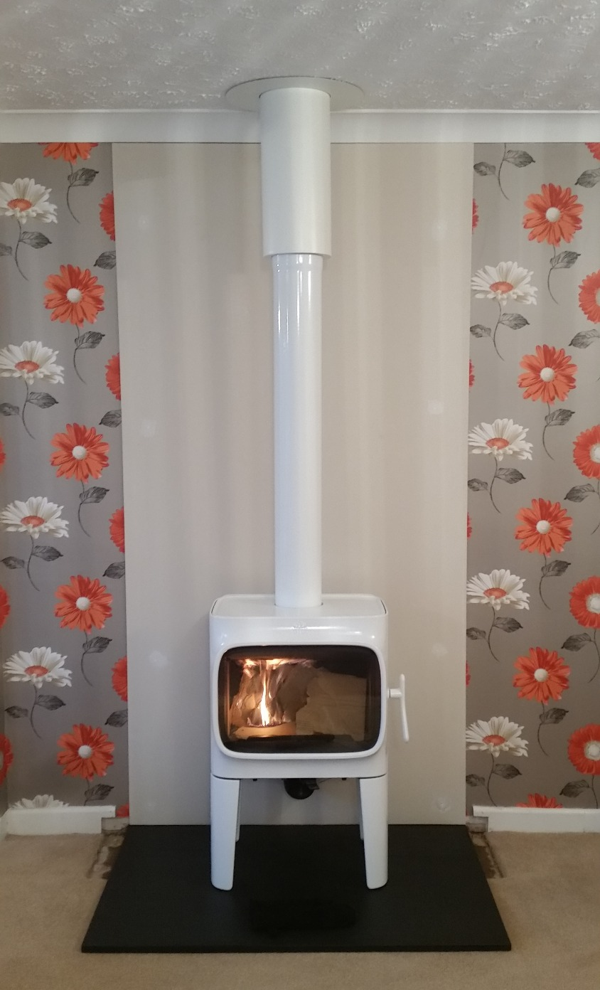 White Enamel Jotul and Twinwall
