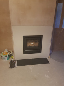 fireplace and insert fire