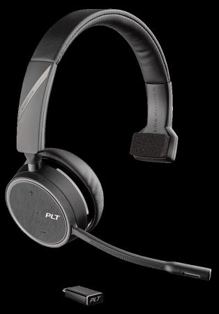 Plantronics Voyager 4210 UC Monaural USB-C Bluetooth Headset