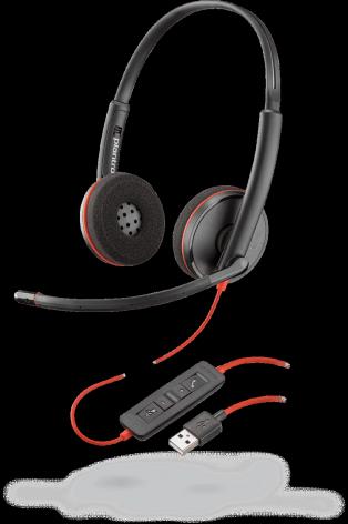 PLX Blackwire C3220 Stereo USB-A Headset