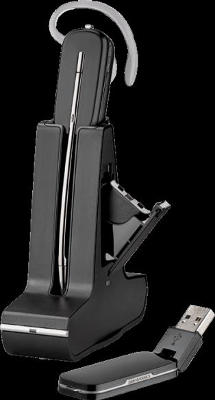 Plantronics Savi W445 Convertible DECT Headset