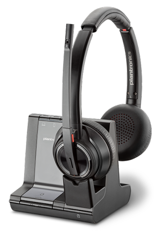 Plantronics Savi W8220-M Binaural Wireless Headset