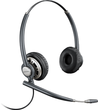 Plantronics EncorePro HW720 Binaural Headset - noise cancelling