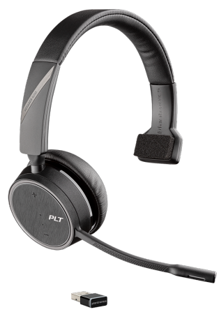Plantronics Voyager 4210 UC Monaural USB A Bluetooth Headset