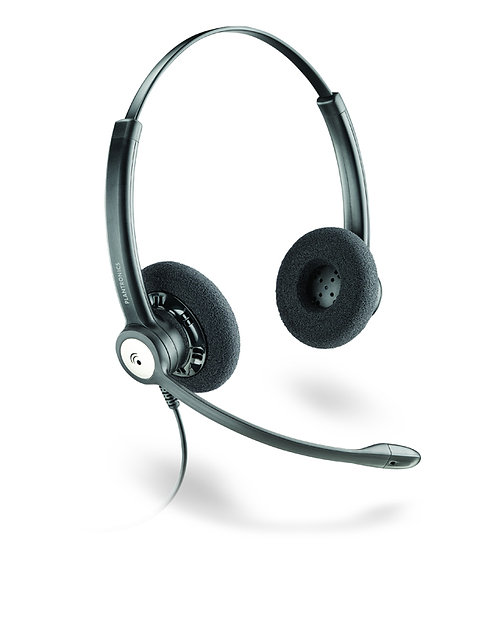 Plantronics HW121N Entera Binaural Headset