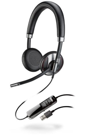 PLX Blackwire C725-M Lync Binaural USB Headset