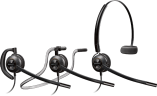 Plantronics EncorePro HW540 Convertible Headset - noise cancelling
