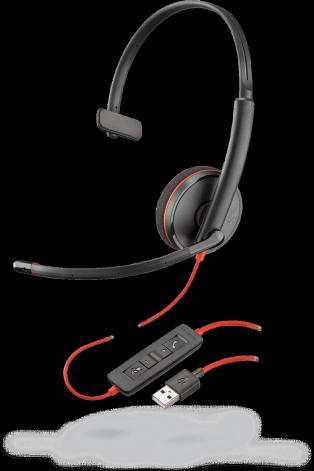 PLX Blackwire C3210 Monaural USB-A Headset
