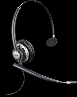 Plantronics EncorePro HW710 Monaural Headset - noise cancelling