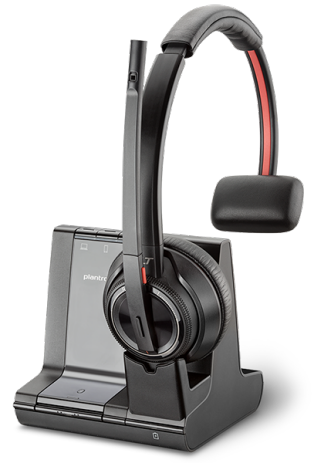 Plantronics Savi W8210 Monaural Wireless Headset