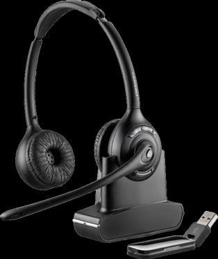 Plantronics Savi W420-M Binaural DECT Headset