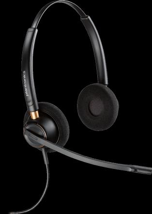 Plantronics EncorePro HW520 Binaural Headset - noise cancelling
