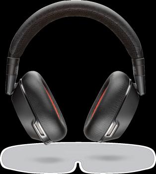 Plantronics Voyager 8200 UC Bluetooth Headset (Black)