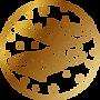 Zodiac Signs_Pisces_Gold_Pixejoo.png
