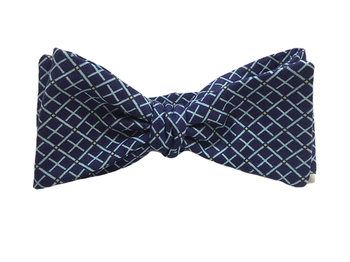 Self Tied Bow Tie #0016