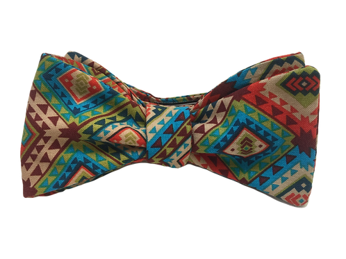 Self Tied Bow Tie #0010