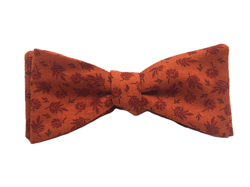 Self Tied Bow Tie #0030
