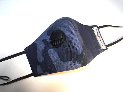Dark Blue Dust Filter Mask
