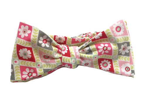 Self Tied Bow Tie #0043