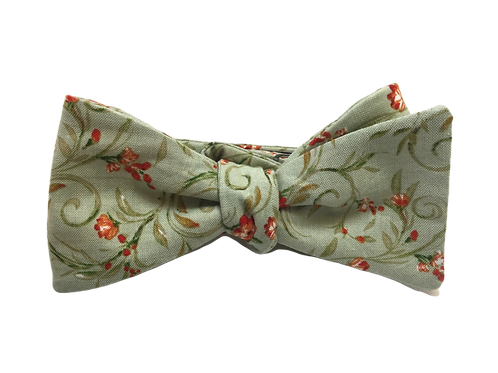 Self Tied Bow Tie #0035