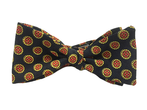 Self Tied Bow Tie #0019