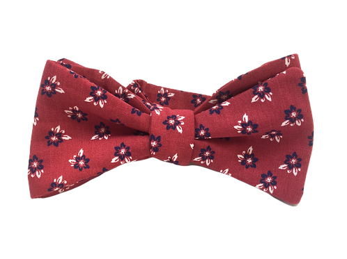 Self Tied Bow Tie #0033