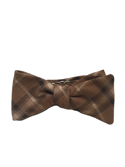 Self Tied Bow Tie #0063