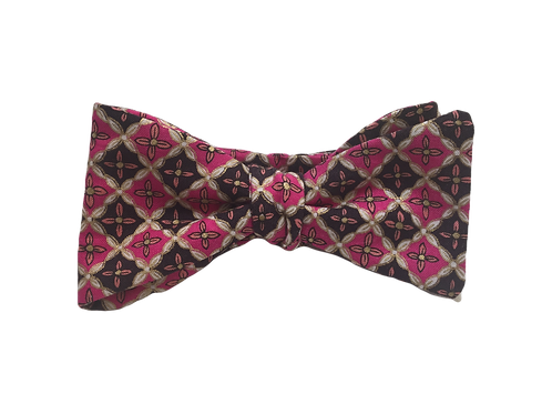Self-Tied Bow Tie