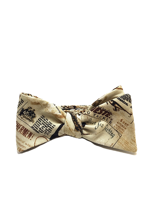 Self Tied Bow Tie #0027