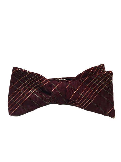 Self Tied Bow Tie #0059