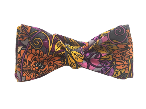 Self Tied Bow Tie #0036