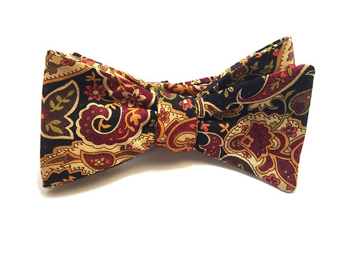 Self Tied Bow Tie #0025