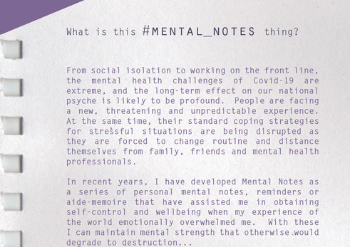 DR | #mental_notes | intro statement | p