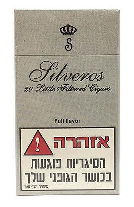 אש טבק סיגרים גלגול טבק תל אביב | silveros סיגרלות חומות עם פילטר סילוורוס