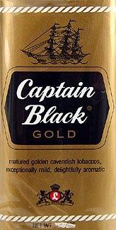 CAPTAIN BLACK טבק למקטרת | אש טבק