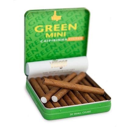 villiger mini green סיגרלות ויליגר