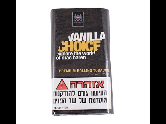 טבק לגלגול עצמי מקבארן וונילה צויס