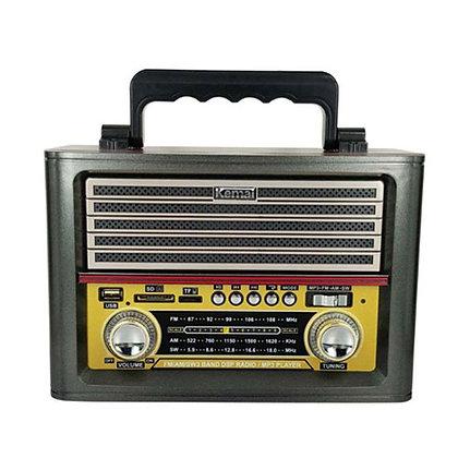 V.X.R מיוזיק בוקס רדיו בלוטות' בעיצוב רטרו | אש סיגרים ומתנות KEMAI