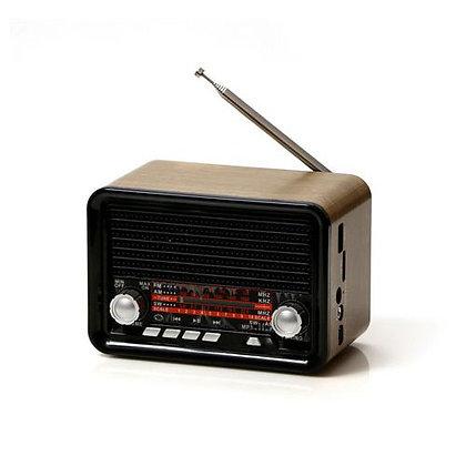 דמיוזיק בוקס בלוטות' בעיצוב רטרו דגם WIVS |  אש סיגרים ומתנות